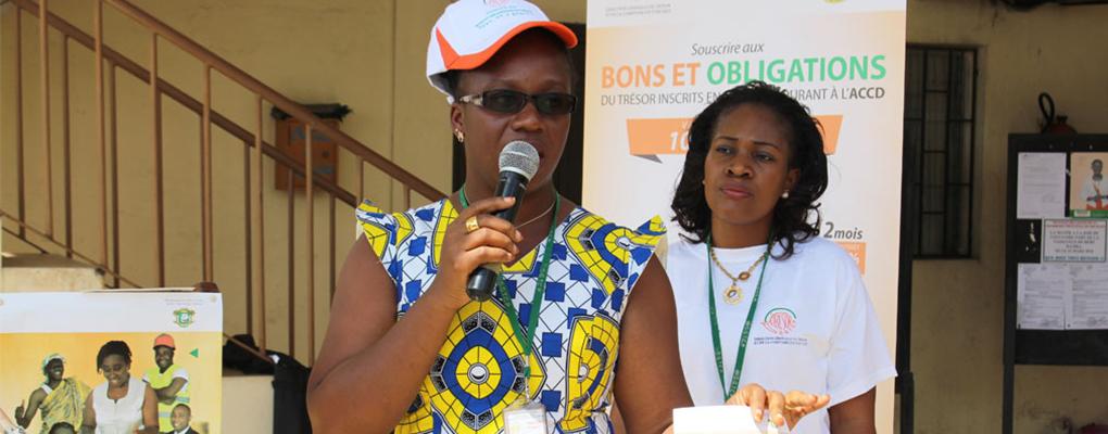 Souscription aux Bons et Obligations du Trésor : La population de Koumassi sensibilisée