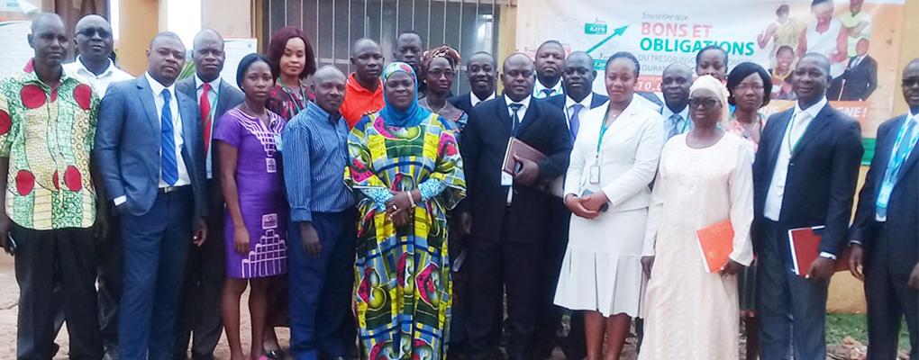 SOUSCRIPTION AUX PRODUITS D'ÉPARGNE: Les populations de Touba adhèrent aux Bons et Obligations du Trésor